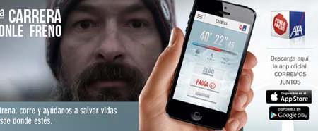 La App Corremos Juntos de Axa te ayuda en la Carrera Ponle Freno