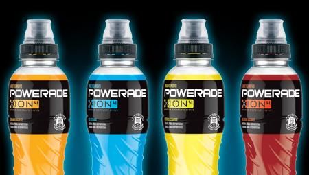 Botellas de Powerade